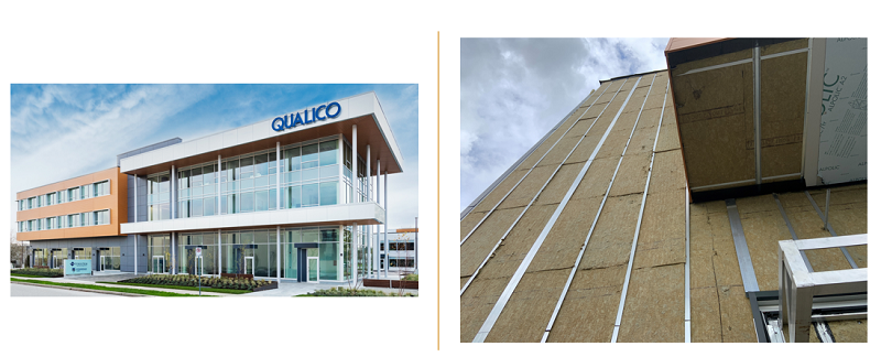 Qualico regional office in Surrey B.C. - energy efficiency features