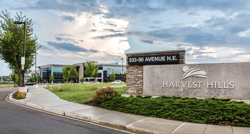 Harvest Hills Office Park Entrance