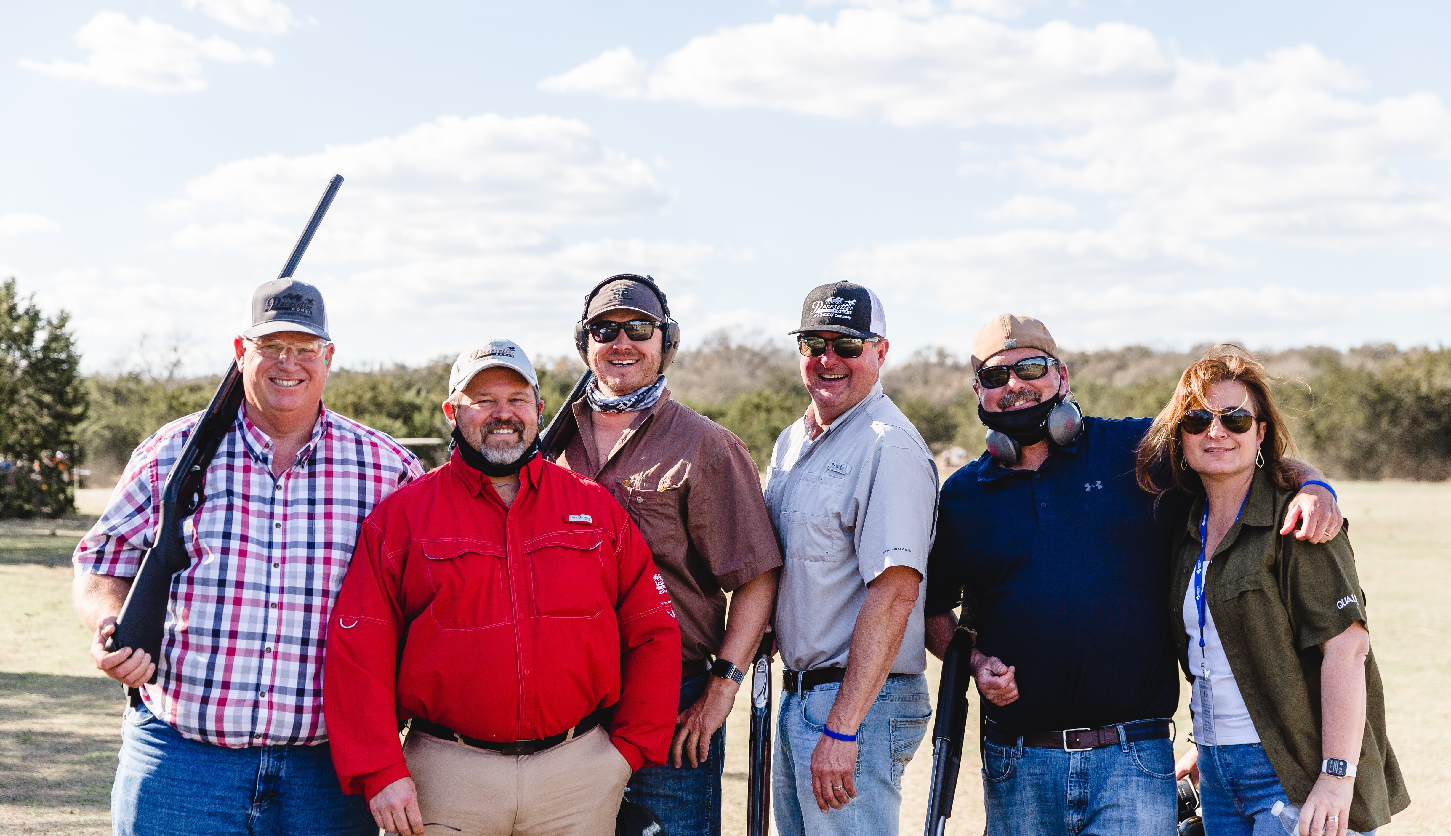 6 Participants from Qualico for Imagine A Way's sixth annual Shoot for the Stars Sporting Clays Tournament
