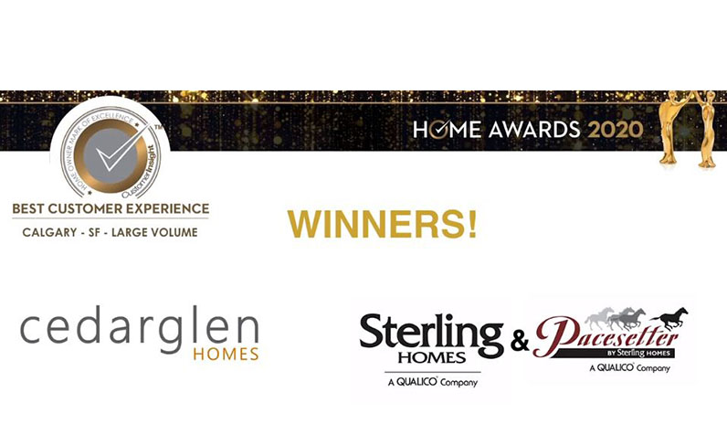 Sterling Homes Calgary | Best Customer Experience | CustomerInsight HOME Awards | Feature Image