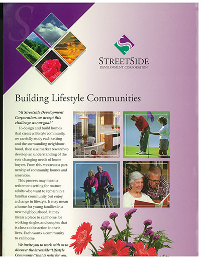 old StreetSide Folder cover