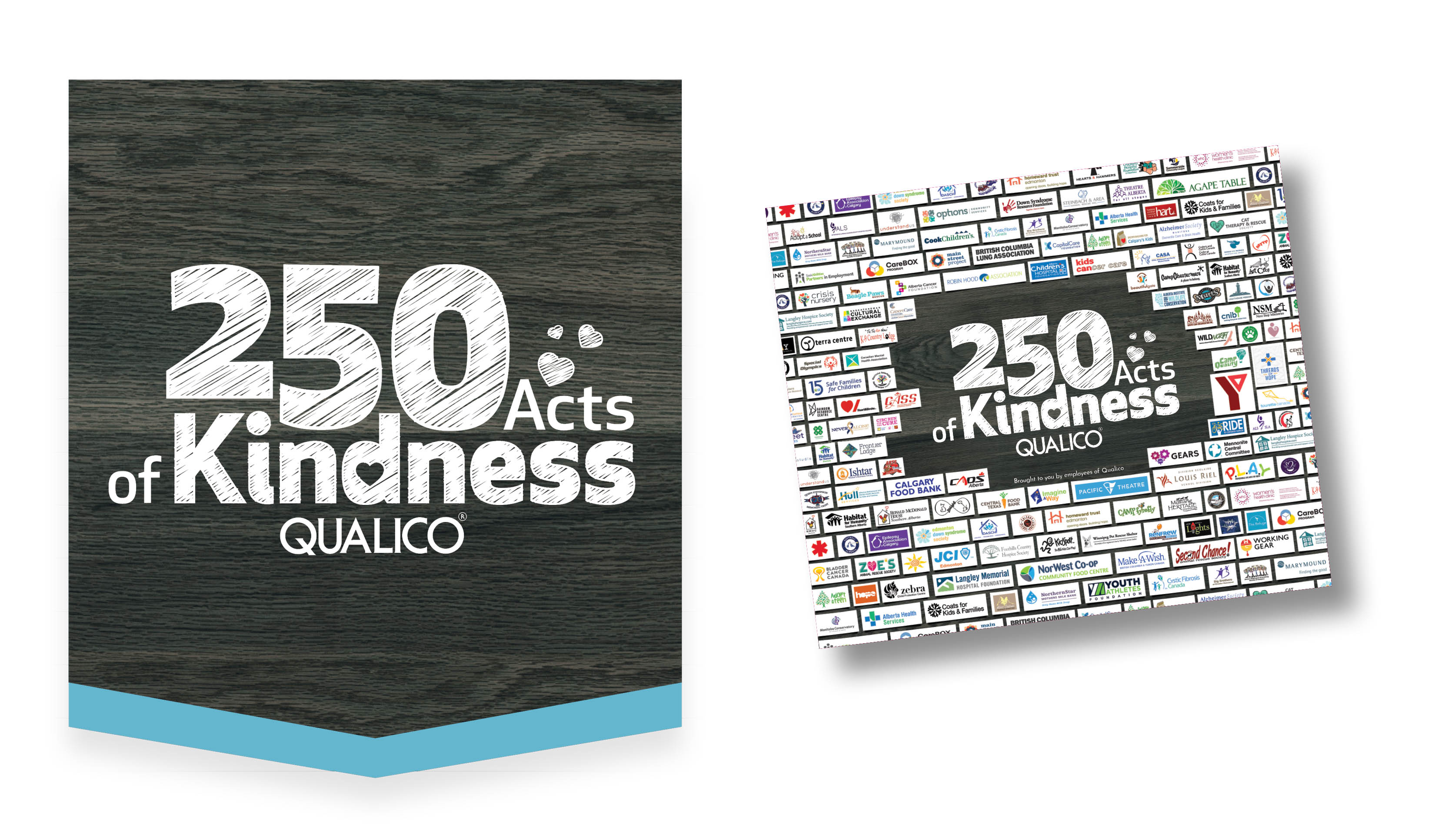Acts of Kindness | Qualico | 250 Donations Book Cover