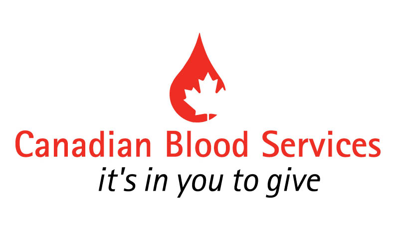 Canadian Blood Services | It's in you to give | Logo