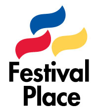 The logo of Festival Place