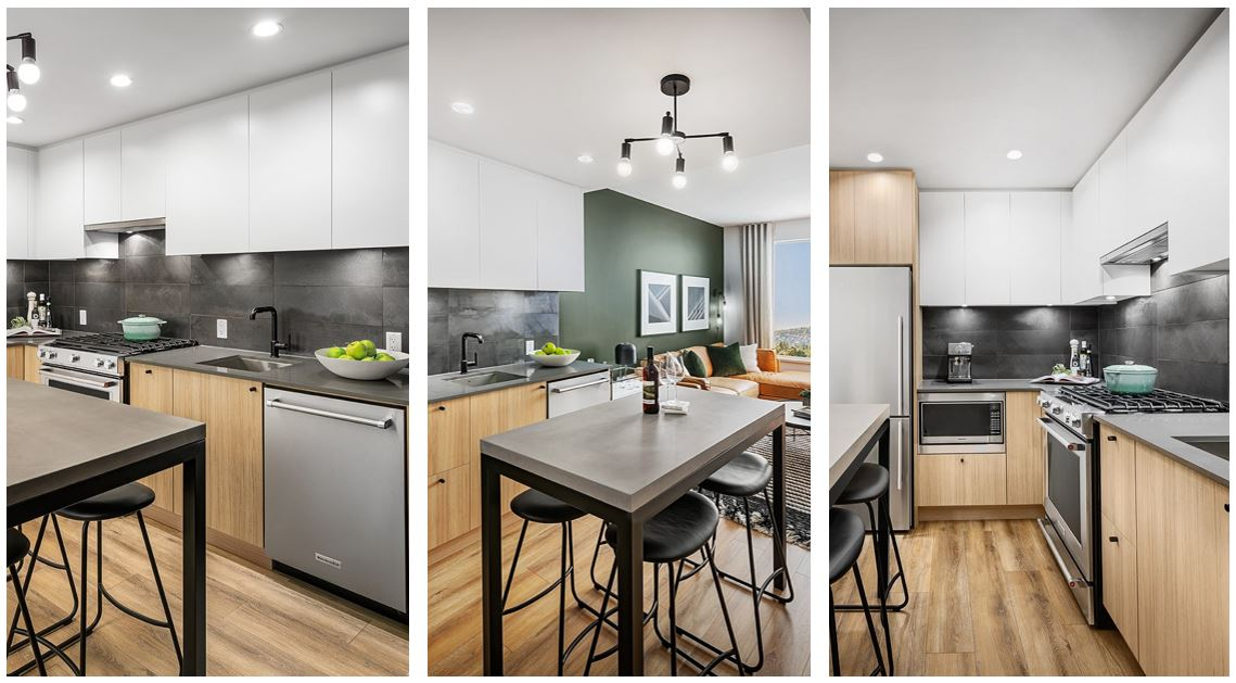 Port & Mill Condos - finishes and fixtures