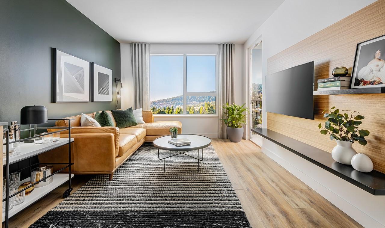Port & Mill Condo - Living Room