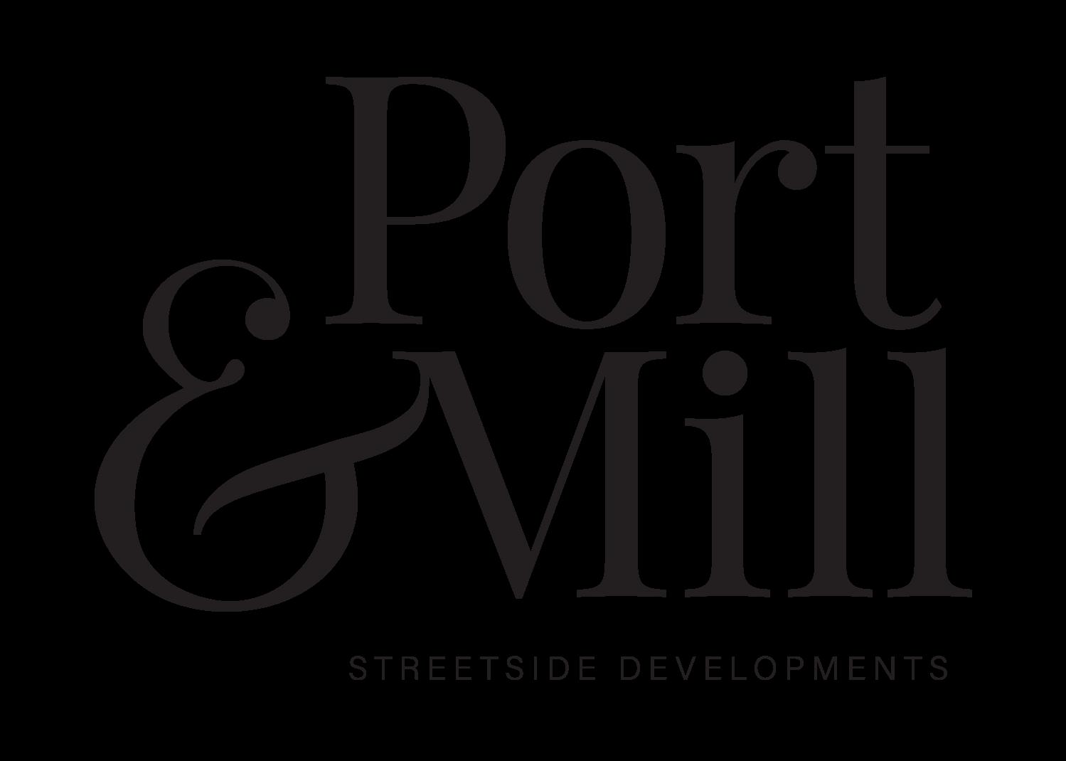 Port & Mill Logo