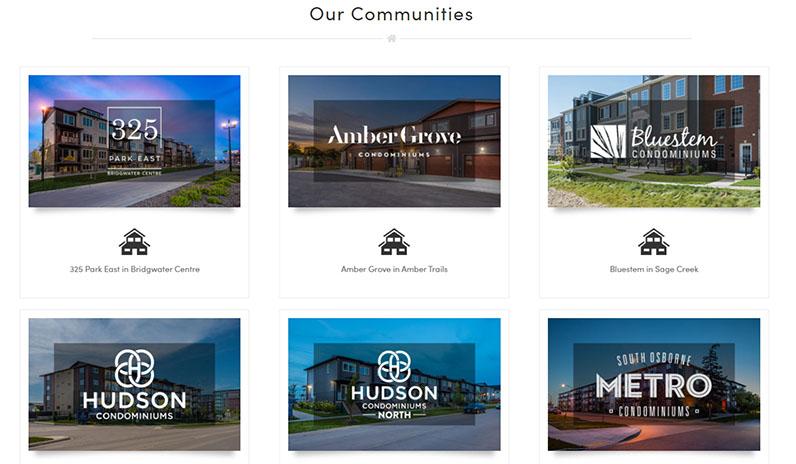 StreetSide Developments | Communities | Winnipeg