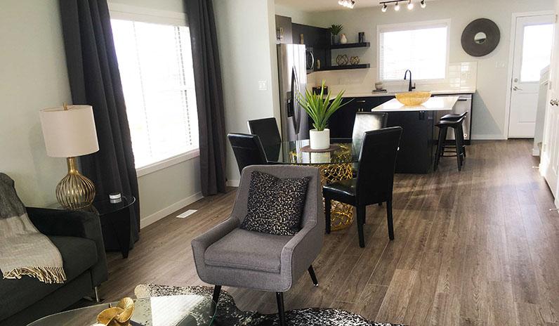 Pacesetter Homes Regina Showhome - Living Room
