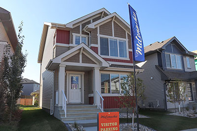 Sterling Homes Edmonton Sansa Model Exterior