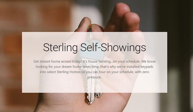 Sterling Homes   Self-Showings   Edmonton
