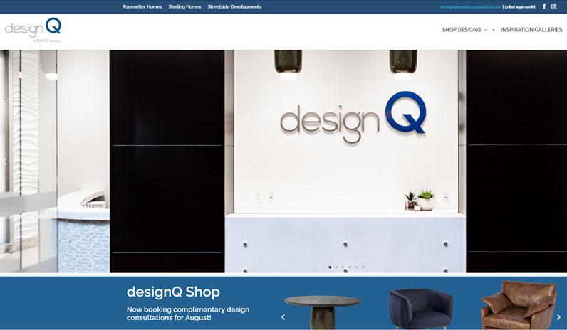 designQ Edmonton home page