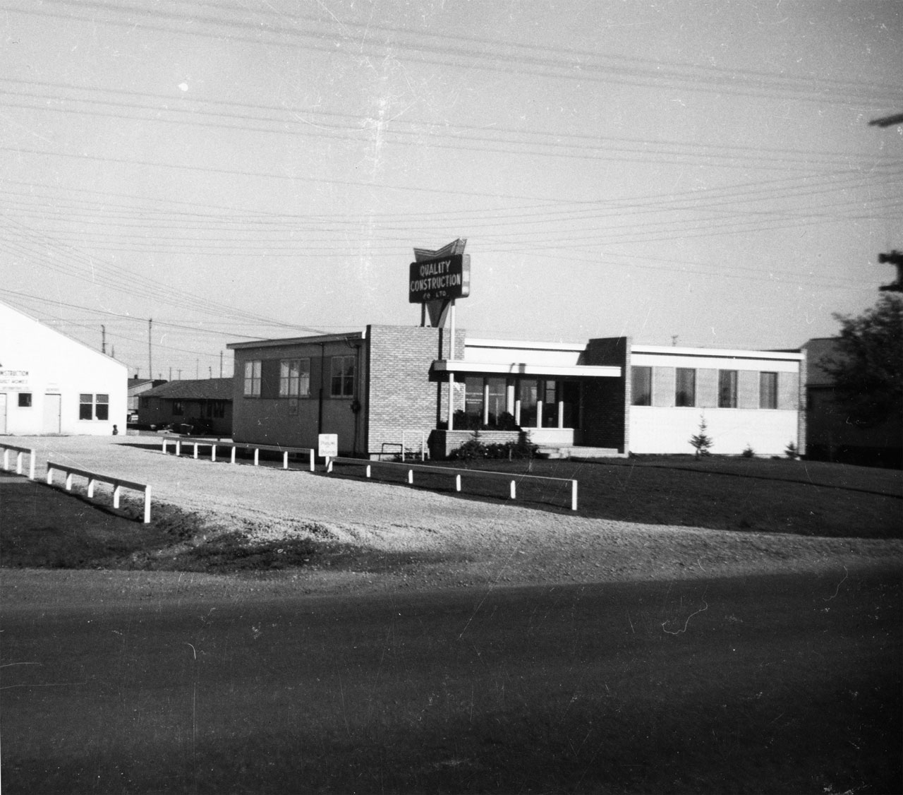 1952 Old Quality Construction Offices
