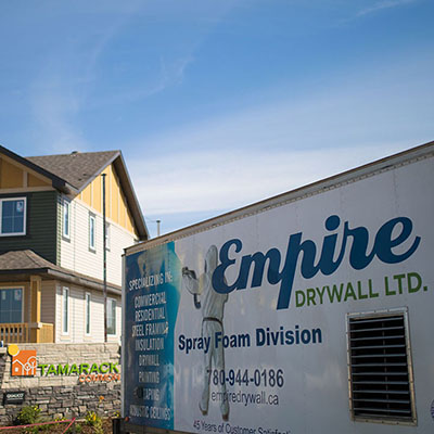 Empire Drywall Truck