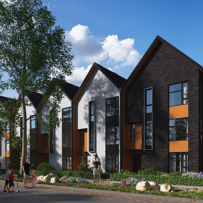 Orchard Park Townhomes by StreetSide Developments Vancouver