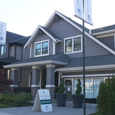 Foxridge Homes Vancouver Showhome Exterior