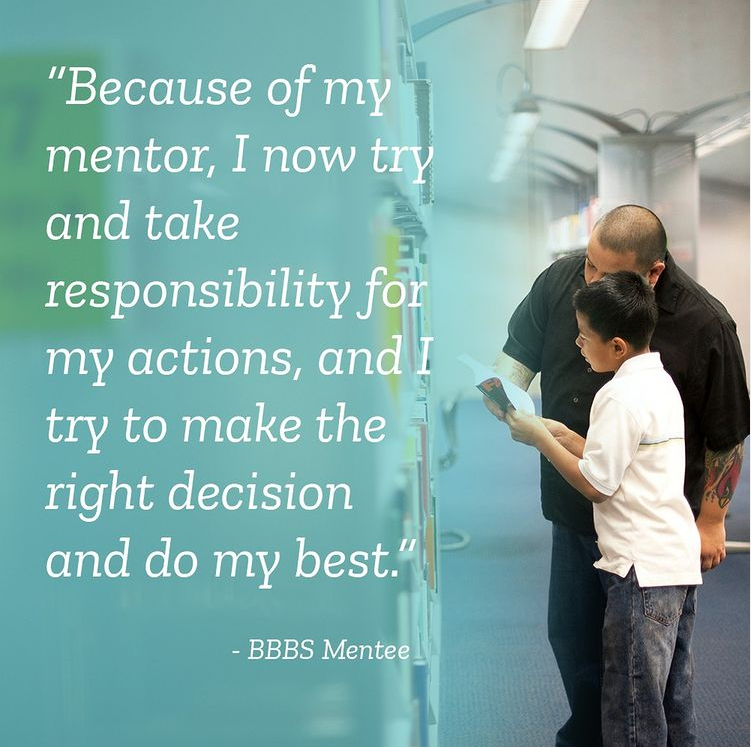 BBBS Mentee Quote