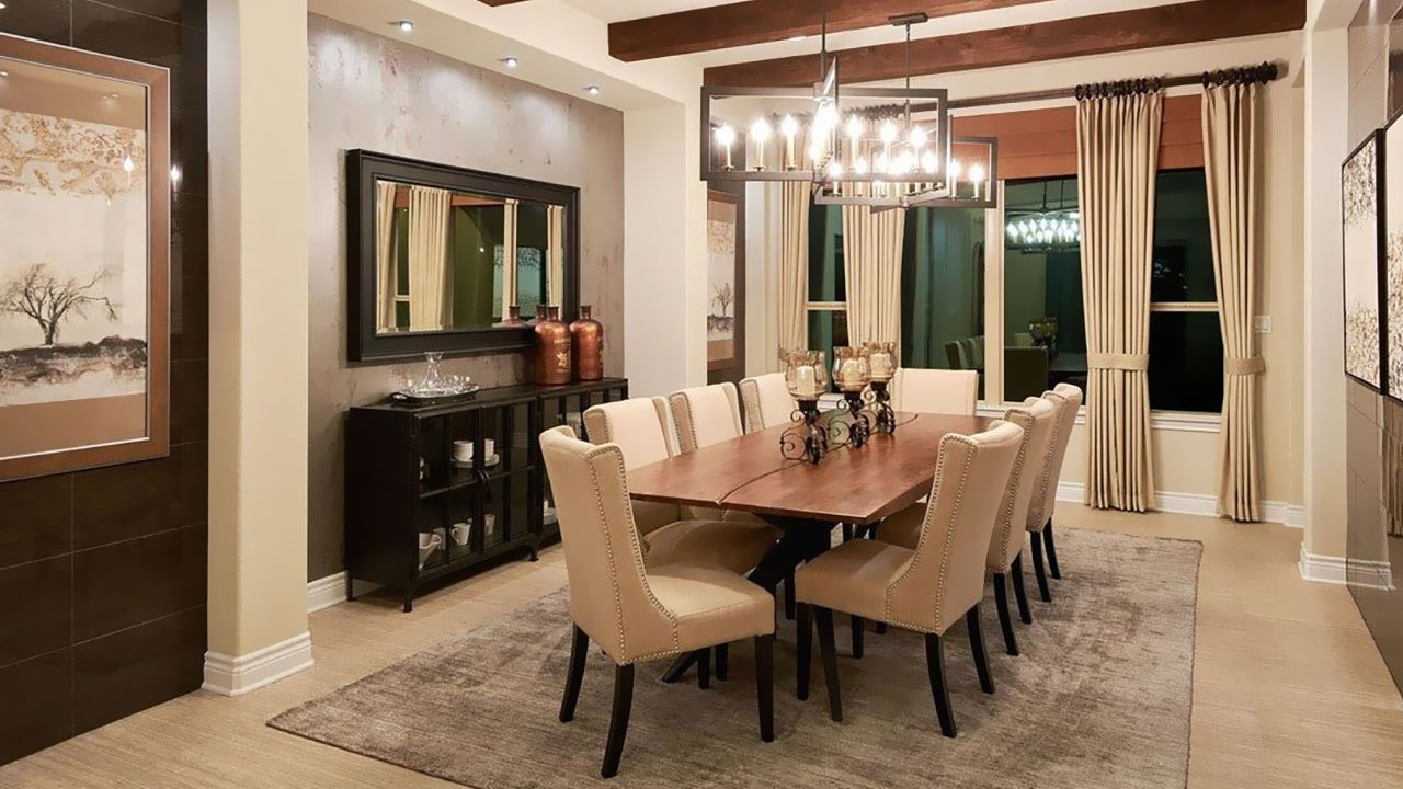The La Ventana's dining room will be a place your friends and family will love to gather.