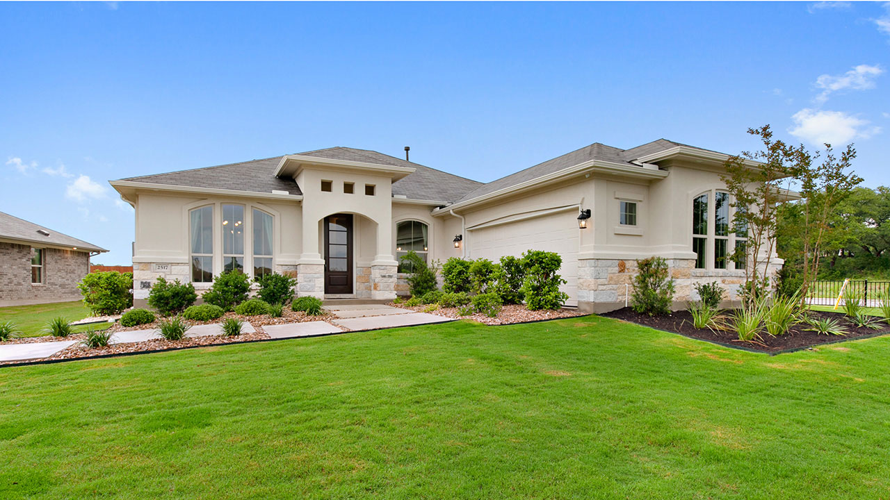 Pacesetter Homes in Austin build a wide variety of bungalows.