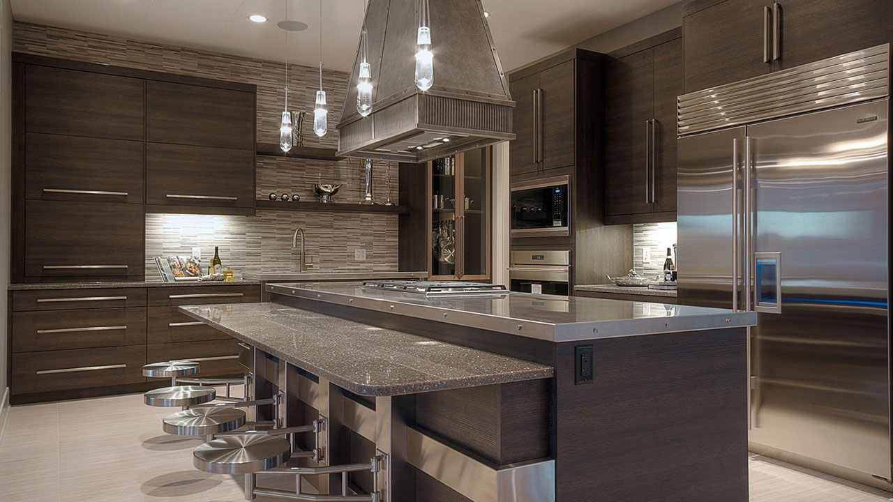 The Kitchen in the Kingston by Augusta Fine Homes