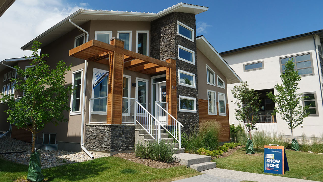 Broadview Homes in Calgary offers home buyers with beautiful architectural designs.