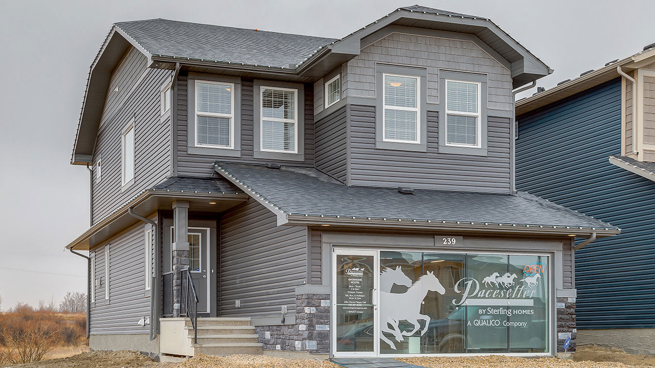 The Manhattan showhome, built by Pacesetter Homes in Calgary