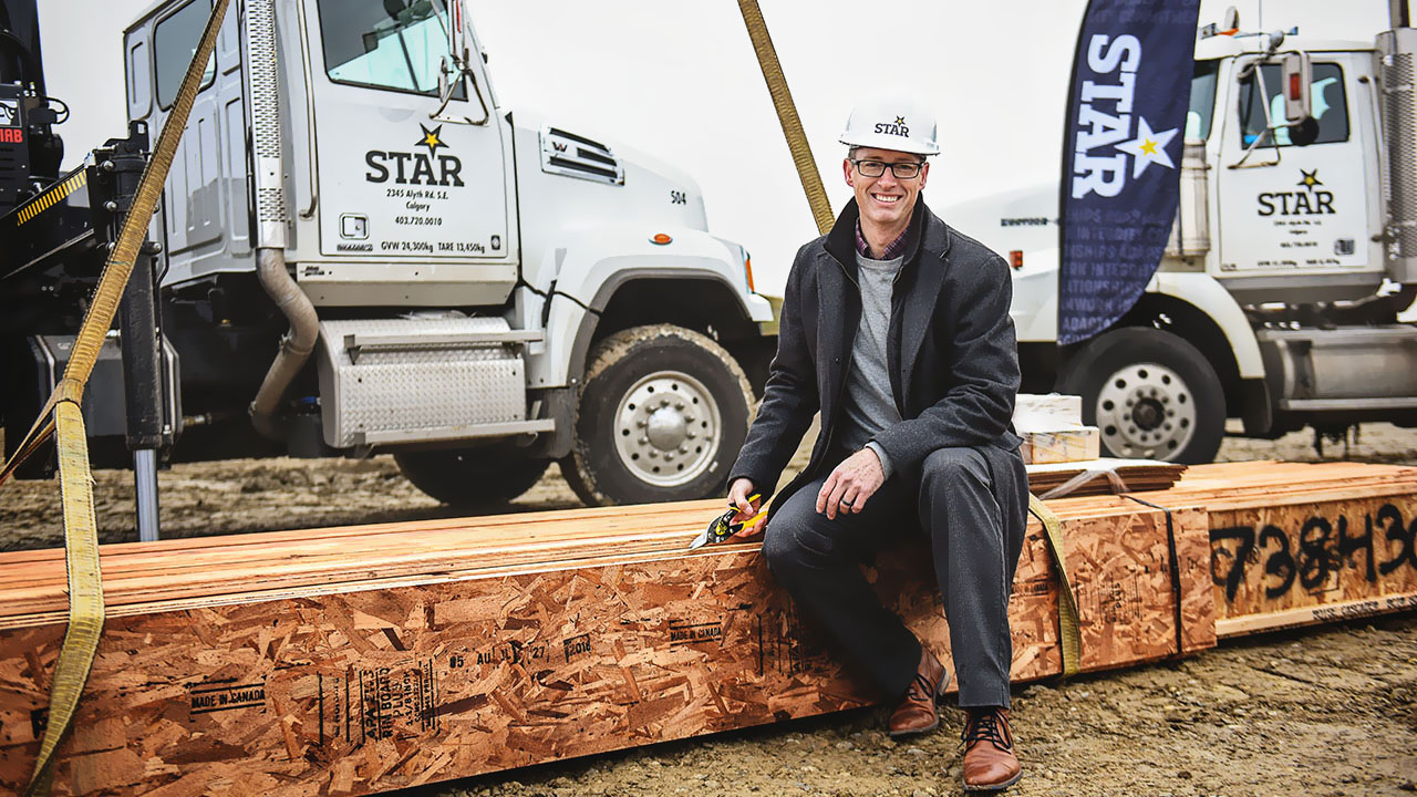 Ken Crockett, VP of Star Building Materials in Calgary