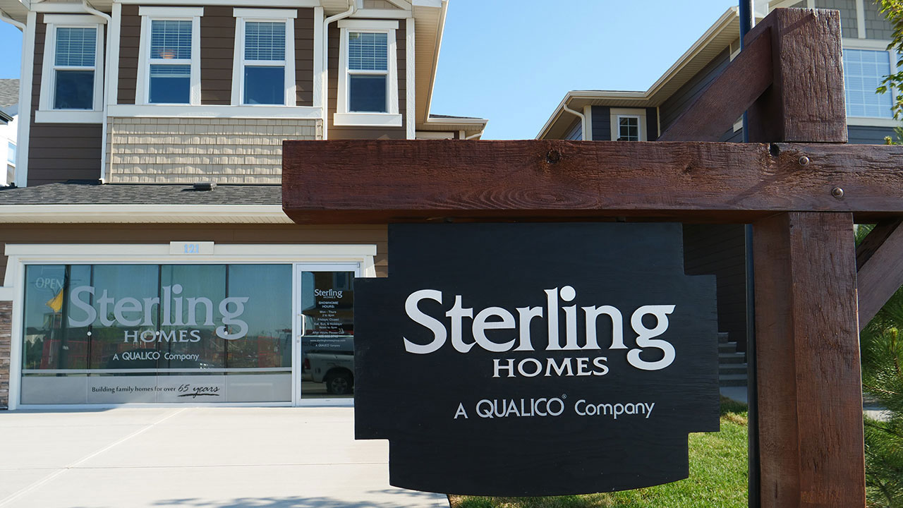 Homebuyers can visit one of Sterling Home's many showhomes across the Greater Calgary area.
