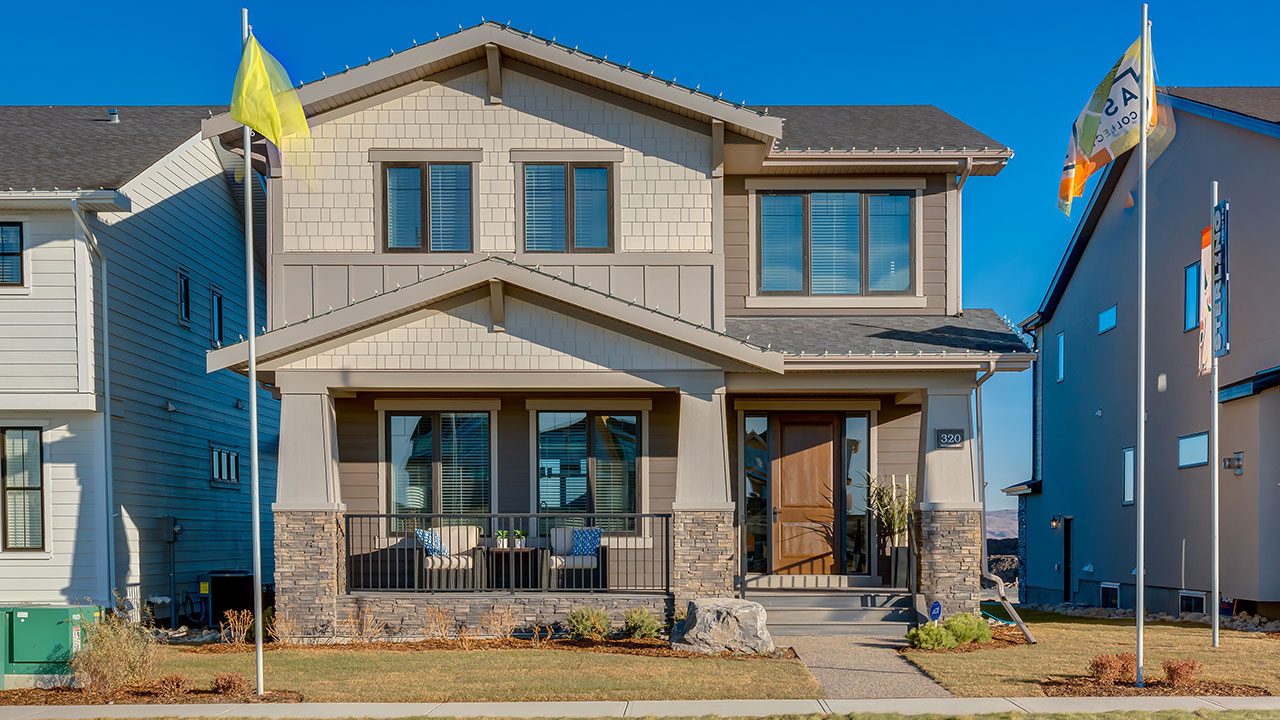 The McKinley showhome built by Sterling Homes in Calgary