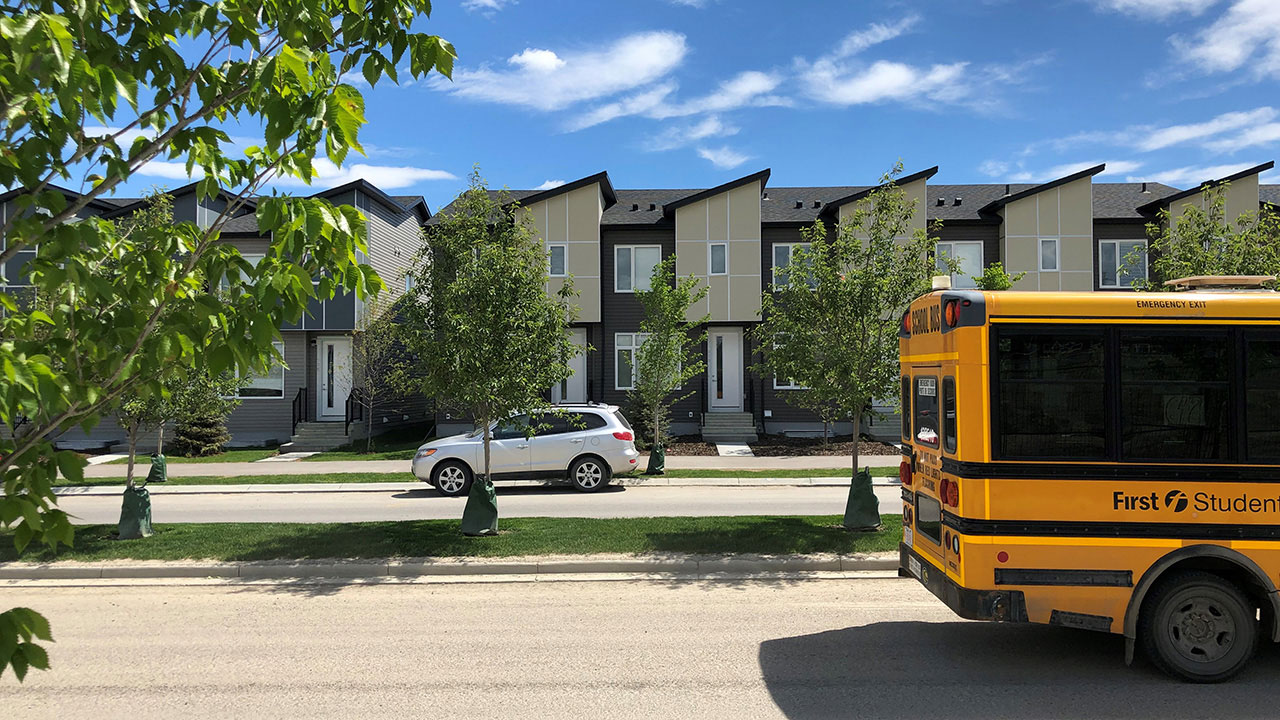 Streetside Developments is currently building townhomes in the community of Redstone.