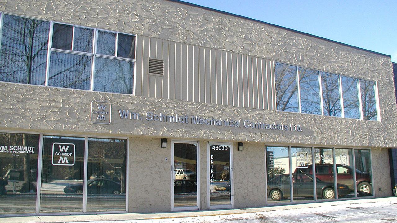 The WM Schmidt offices in Calgary.