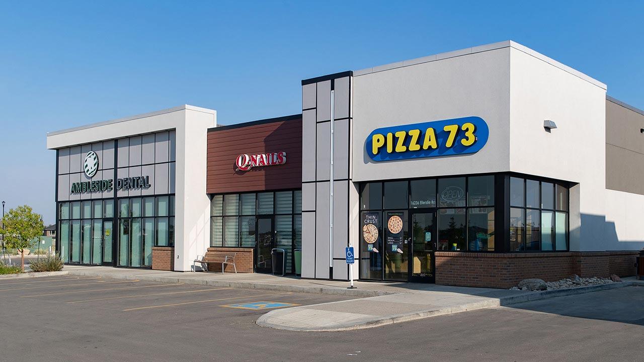 Ambleside Centre is a 104,400 sq. ft. retail development in Southwest Edmonton.