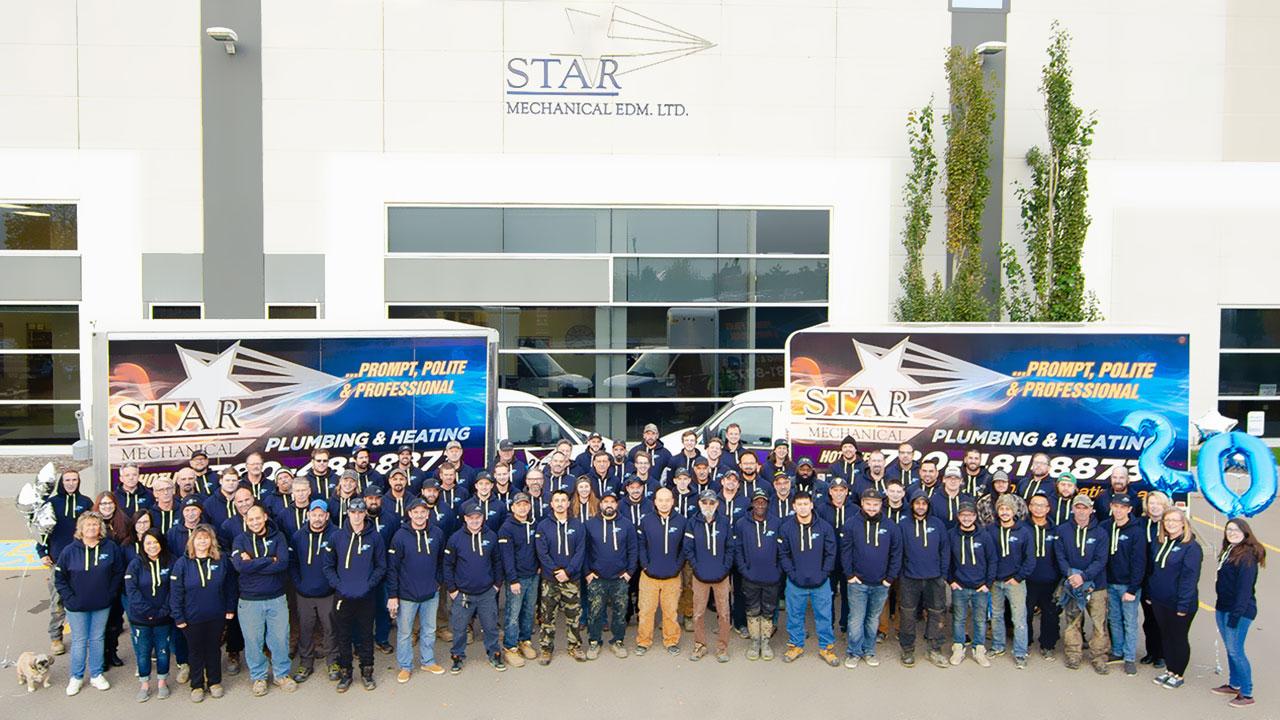 Star Mechanical Edmonton celebrates 20 years