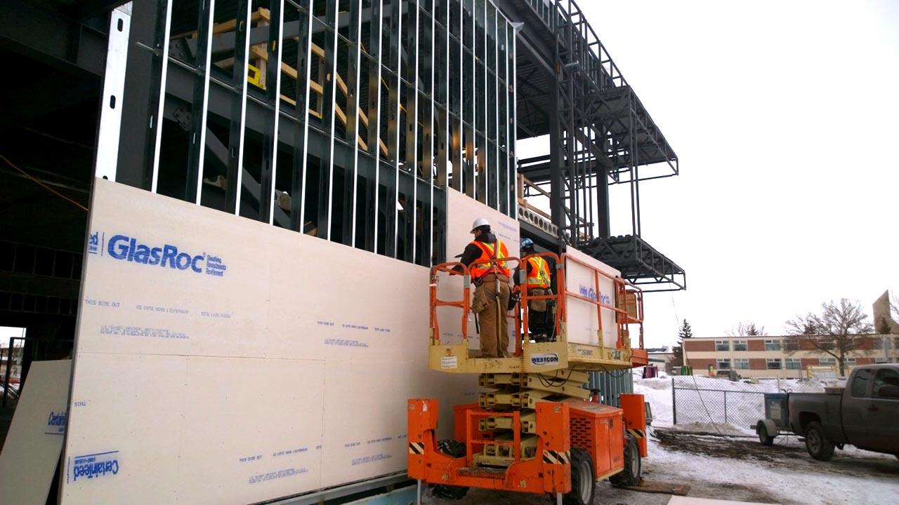 Gypsum Drywall Interiors - Installation
