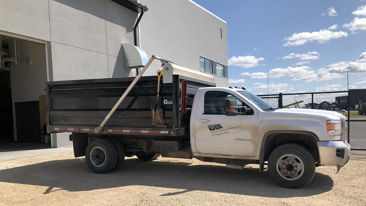 Gypsum Drywall Interiors - Dump Truck