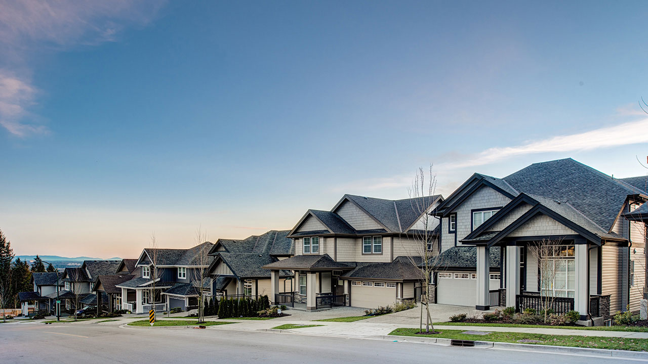 Homes in a Qualico community -Metro Vancouver