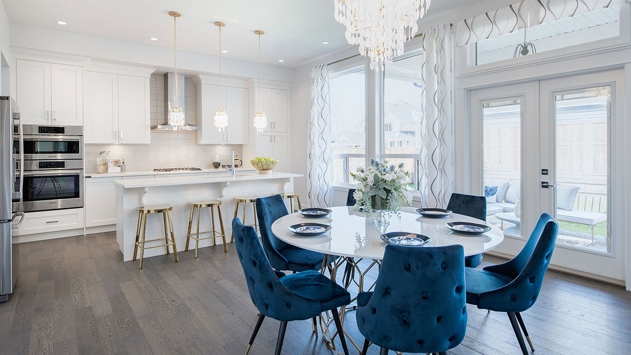 Foxridge showhome at Parkview Estates