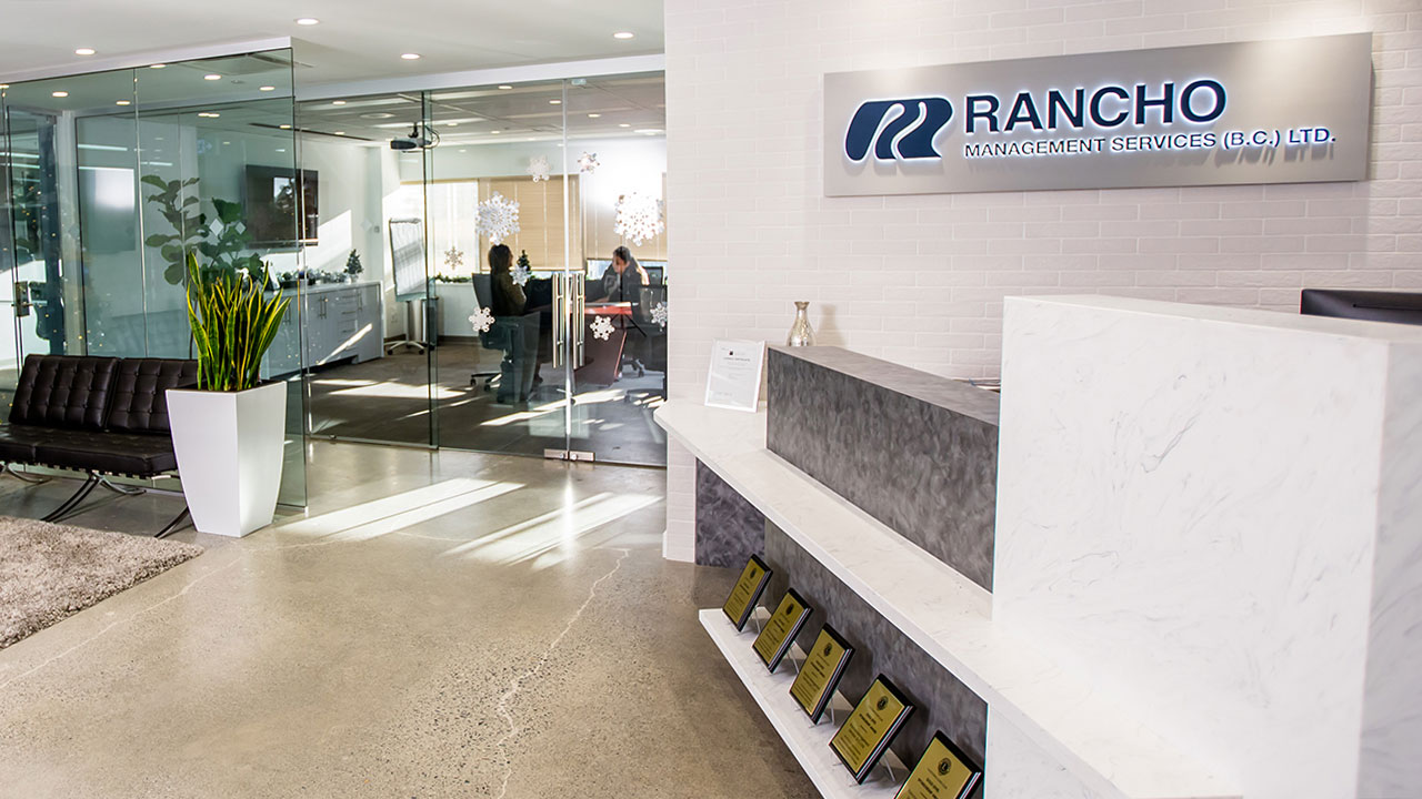 Offices of Rancho Management Services in Vancouver.