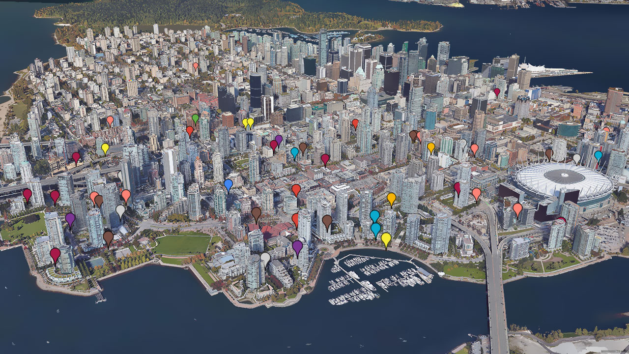 Rancho manages properties throughout downtown Vancouver.