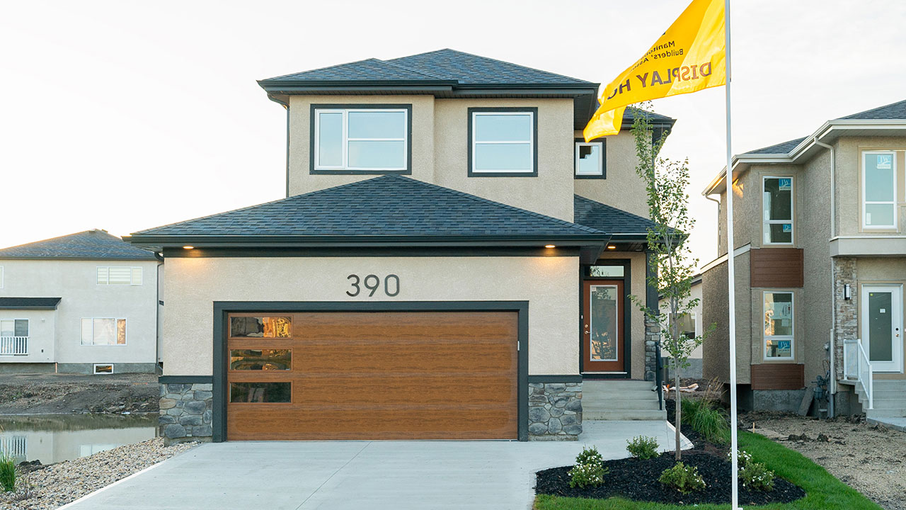 A display home built by Kensington Homes in north Winnipeg.