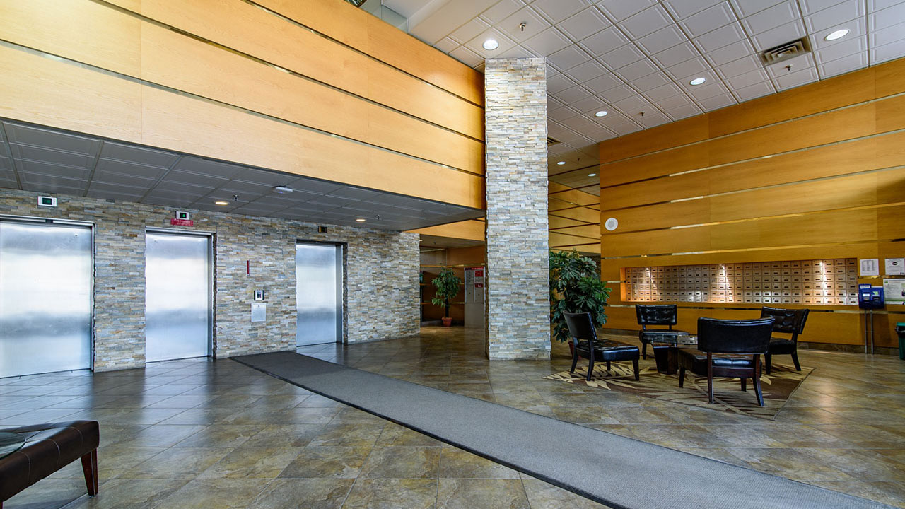 Lobby of Broadview Manor, Winnipeg