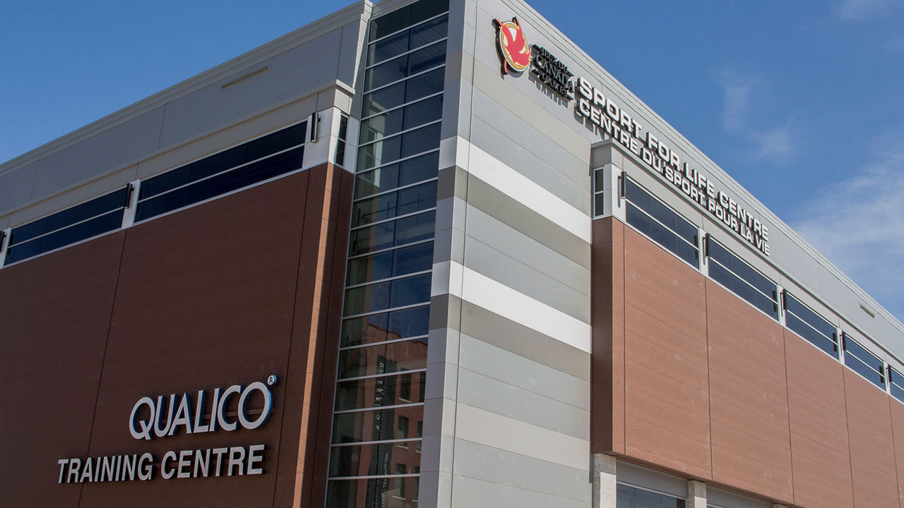 Qualico is a major financial supporter of the new Sport for Life Centre