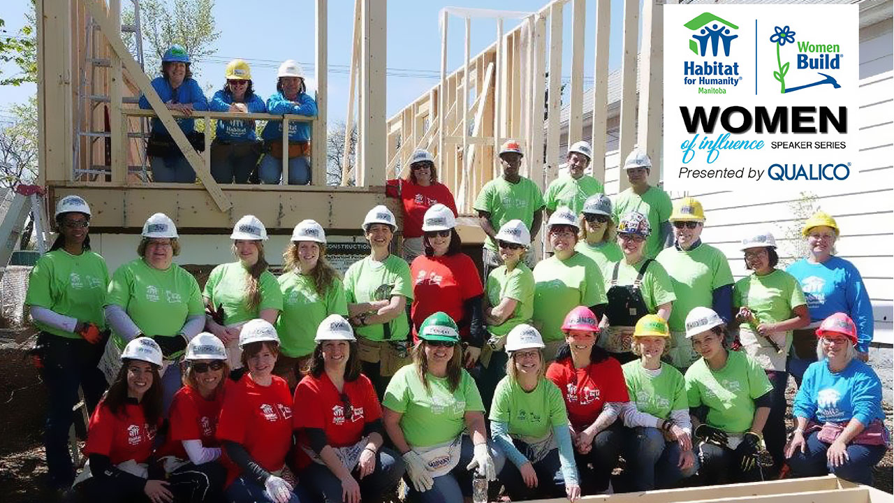 Qualico sponsors Habitat for Humanity Manitoba's first Women of Influence Speaker Series