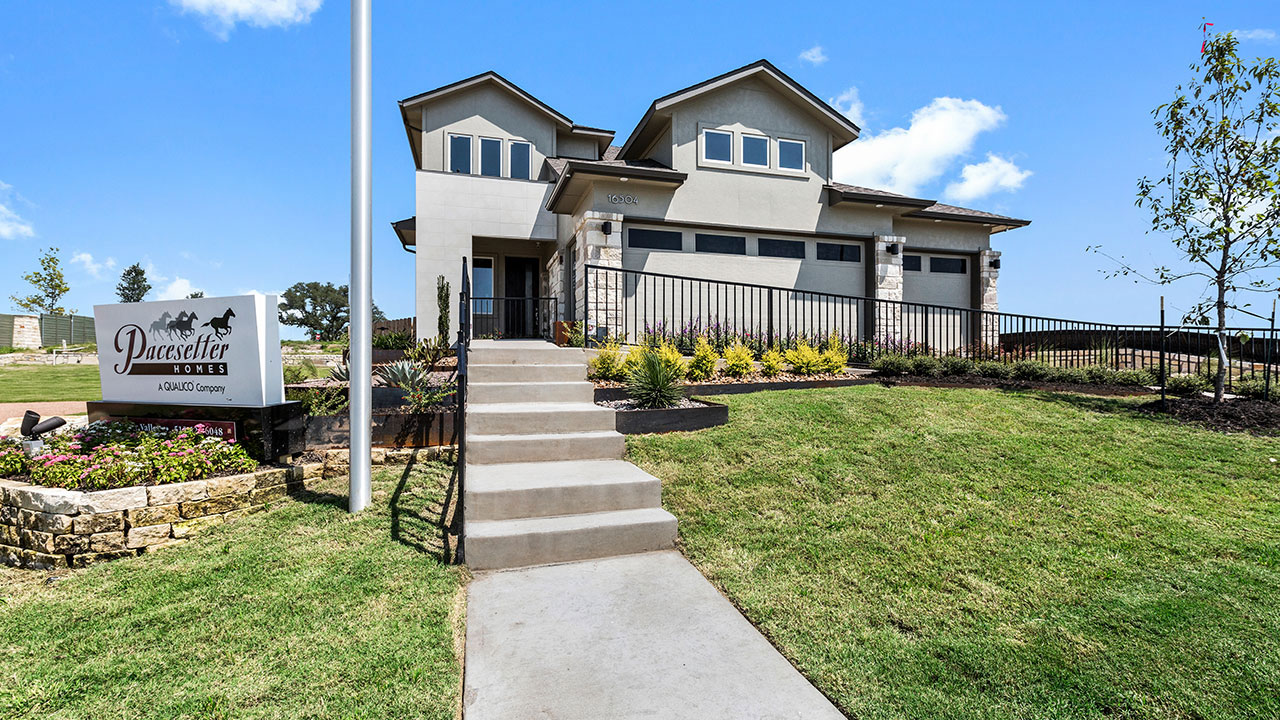 Pacesetter Homes Austin in Whisper Valley
