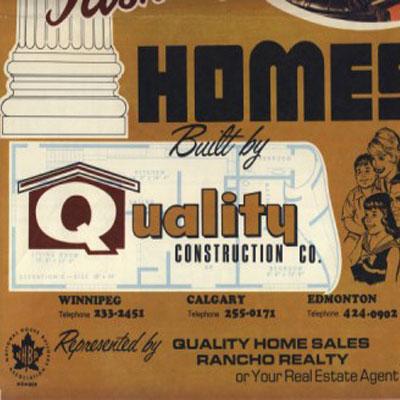 Quality Construction ad