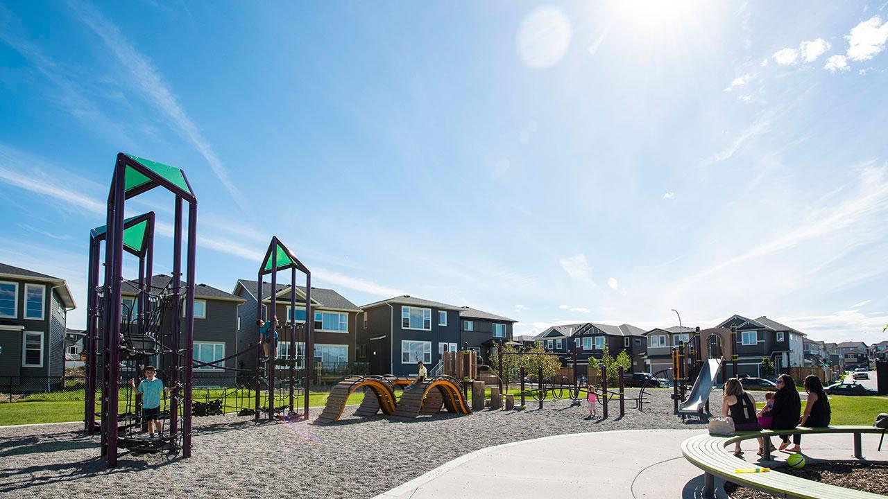 Park in the community of Evanston