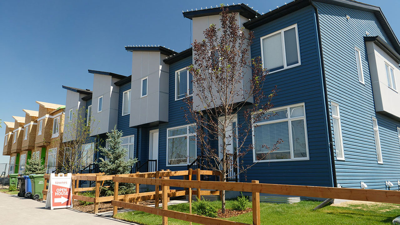 The Redstone Townes project by Streetside Developments in Calgary.