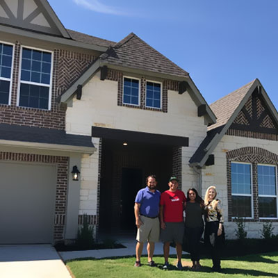 First Dallas home sale