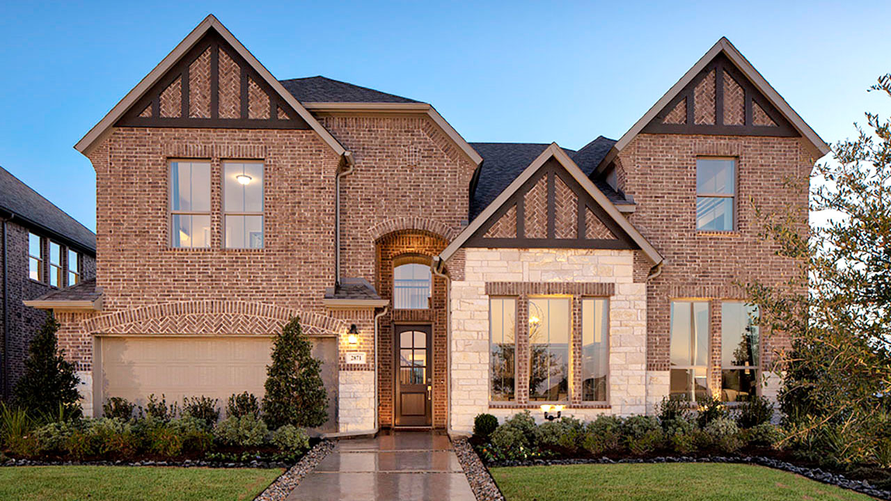 A pacesetter home in Dallas.