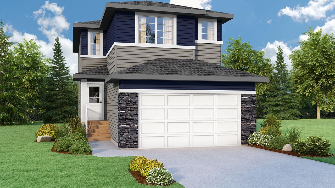 Pacesetter Homes Regina's Bradford B Model